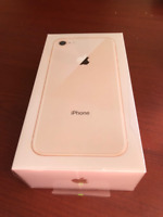 iPhone8 - 64GB Gold - Brand new never opened