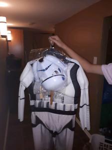 Storm trooper Halloween costume kids