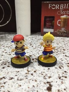 Ness and Lucas Amiibos for sale