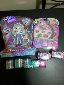 NEW limited edition Shoppies doll + lot of Shopkins