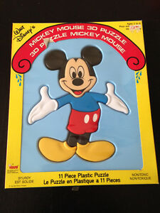 DISNEY-MICKEY MOUSE-3D PUZZLE-NEW