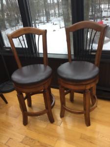 High Bar Swivel Chairs