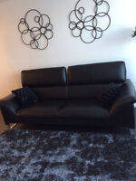 Sold condo everything must go Imported Italian Leather sofa