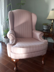 Pair of Wingback Chairs EUC