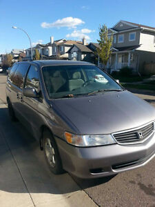 1999 Honda Odyssey Minivan, Van in good condition!!!