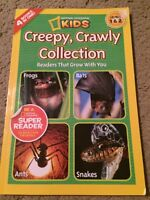 Children's Learn to Read National Geographic creepy crawly