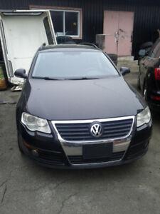 VW Passat 2008 - Black-