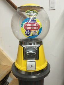Commercial grade gumball machine