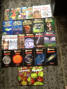 SCHOLASTIC SCIENCE SIGHT WORD READERS BOOK LOT