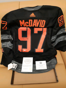 Signed NHL and NFL jerseys,Helmets and Pictures all with COA's
