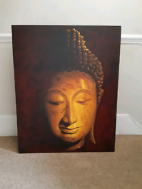 Thai buddha canvas picture - REDUCED