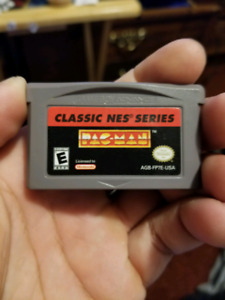 Pacman classic NES for gameboy advance