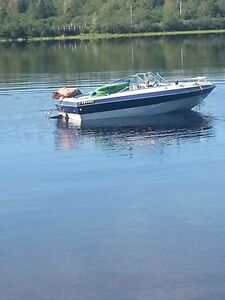 93 speed boat 140hp