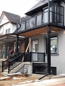 Aluminum Railings •Glass•Picket Supply and Install