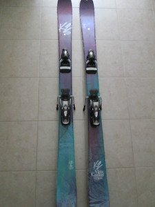 K2 Missconduct Twin-Tip Skis 149 with Look SPX  12 Bindings