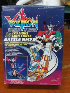1980s Voltron Riser,battery operated,CIB,transformers,robot