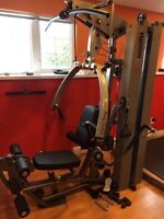 Pro home gym Body Solid Fusion 600 - 310 pounds Stacks