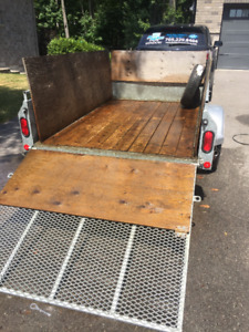 5x8 Utility Trailer. Gently used and in great condition!