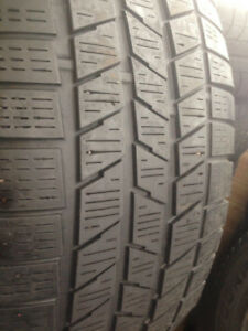 4 Pirreli winter tires  245-65-17