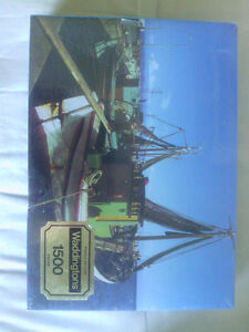 Three 1500 Piece Jigsaw Puzzles Still in Shrink Wrap North Shore Greater Vancouver Area image 5