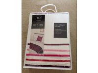 Bed in a bag Tu double duvet cover set - brand new