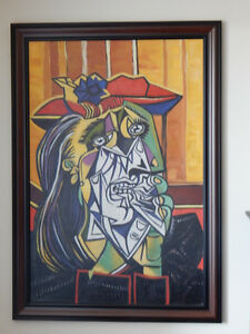 Hand Painted Oil Picasso Reproduction