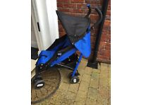 Chicco Echo Blue Stroller for sale
