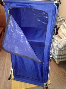 Rangement pliable pour camping