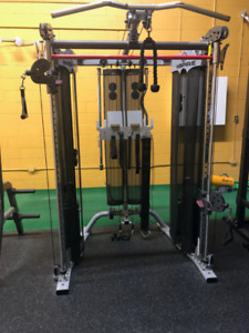 Functional Fitness Cable Trainer + Smith Machine + Pull Up Bar