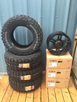 Dodge Ram Mud Tire and Rim Package