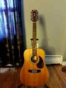 Cort 12-string acoustic.