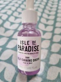 Isle of paradise tanning drops