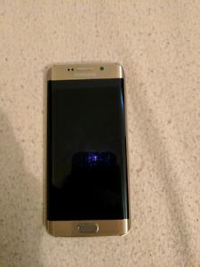 Samsung S6 Edge w/ Spigen case [Telus]