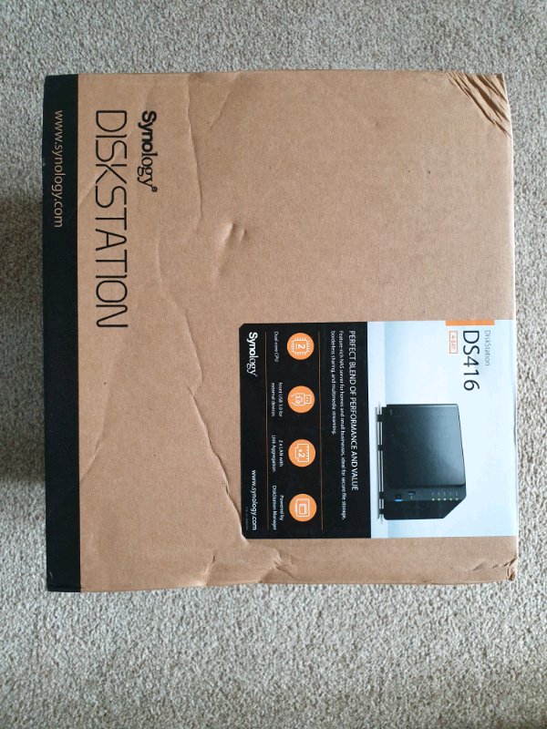 Synology DS416 4 bay Nas Enclosure | in Banbury, Oxfordshire | Gumtree