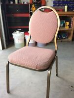 36 Banquet Chairs *GREAT SHAPE*