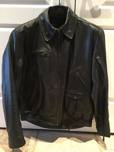 Bristol Leather Riding Jacket - Mens Size 44 - Barely used