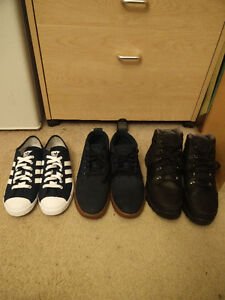 Steals - Adidas & Timberland - Size 8