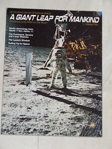 Petersen's 1974 book about space: A Giant Leap For Mankind