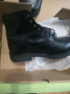 Military ankle Boots