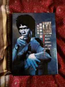 Bruce Lee ultimate DVD collection all in mint condition