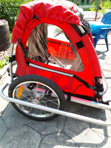 Child's bicycle trailer