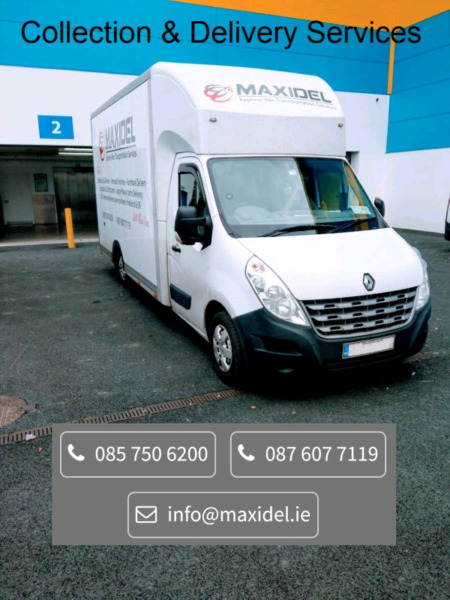 Removal & Delivery Services with Large Low Loaders Maxi Vans 26m cubic