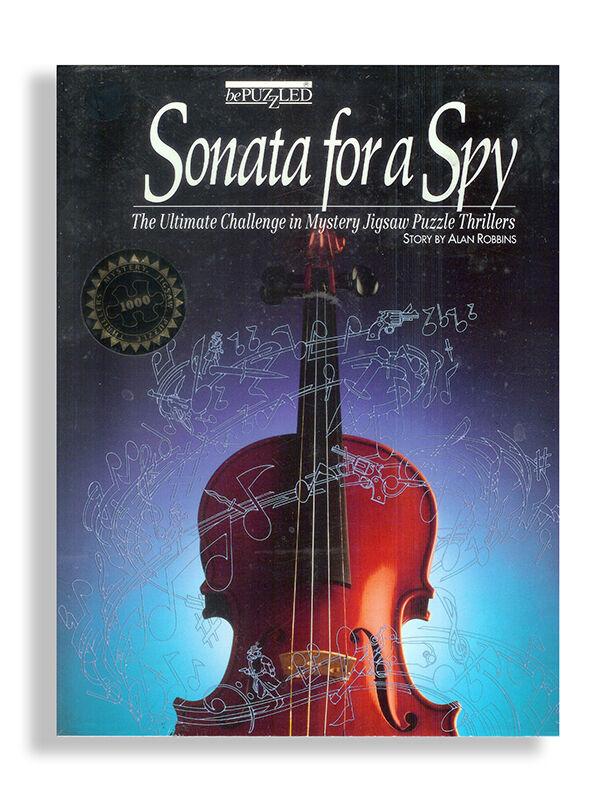 Sonata for a Spy Mystery Jigsaw Puzzle