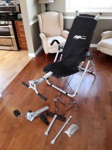New Deluxe AB Lounge with bike pedal