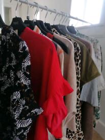 Women's and men's clothes bundle 460 items!