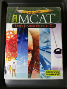 BRAND NEW - 9th Edition Examkrackers MCAT Complete Study Package