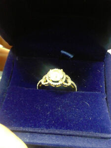 Beautiful 1.54 carat  14 K Gold engagement ring PRICE DROP!! Edmonton Edmonton Area image 9