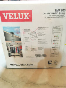 VELUX 10-inch Dia Rigid Sun Tunnel Skylight with 2, 4' extension