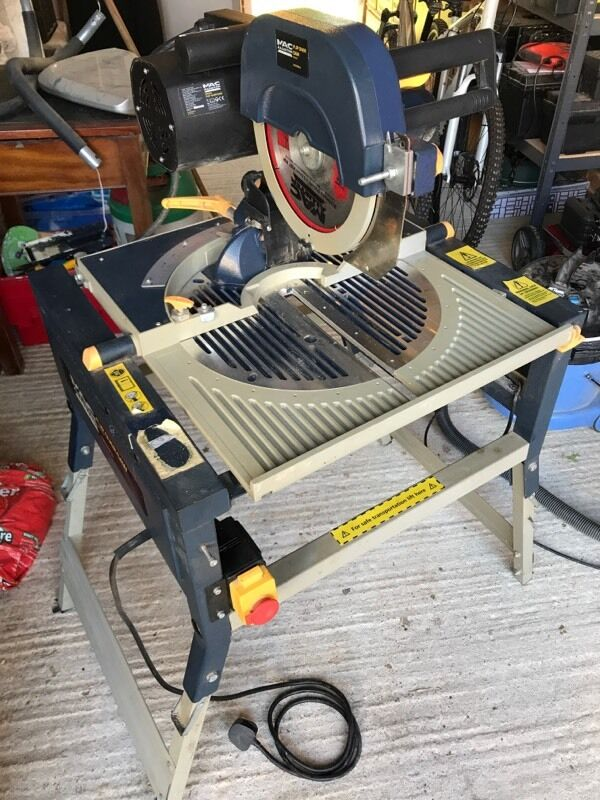 Macallister flip over mitre table saw 2000w in billingshurst west macallister flip over mitre table saw 2000w greentooth Choice Image