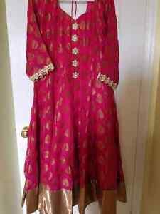 Plus size pure anarkali Salwar suit